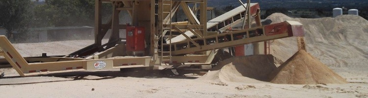 Fischer Air Separator & Dry Sand Washer