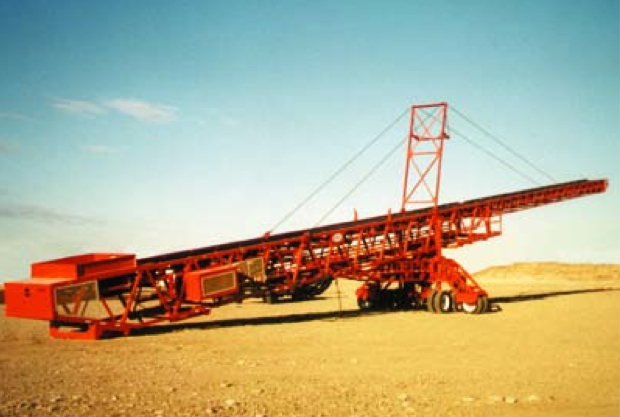 Radial Extender Stacker Mining Machinery